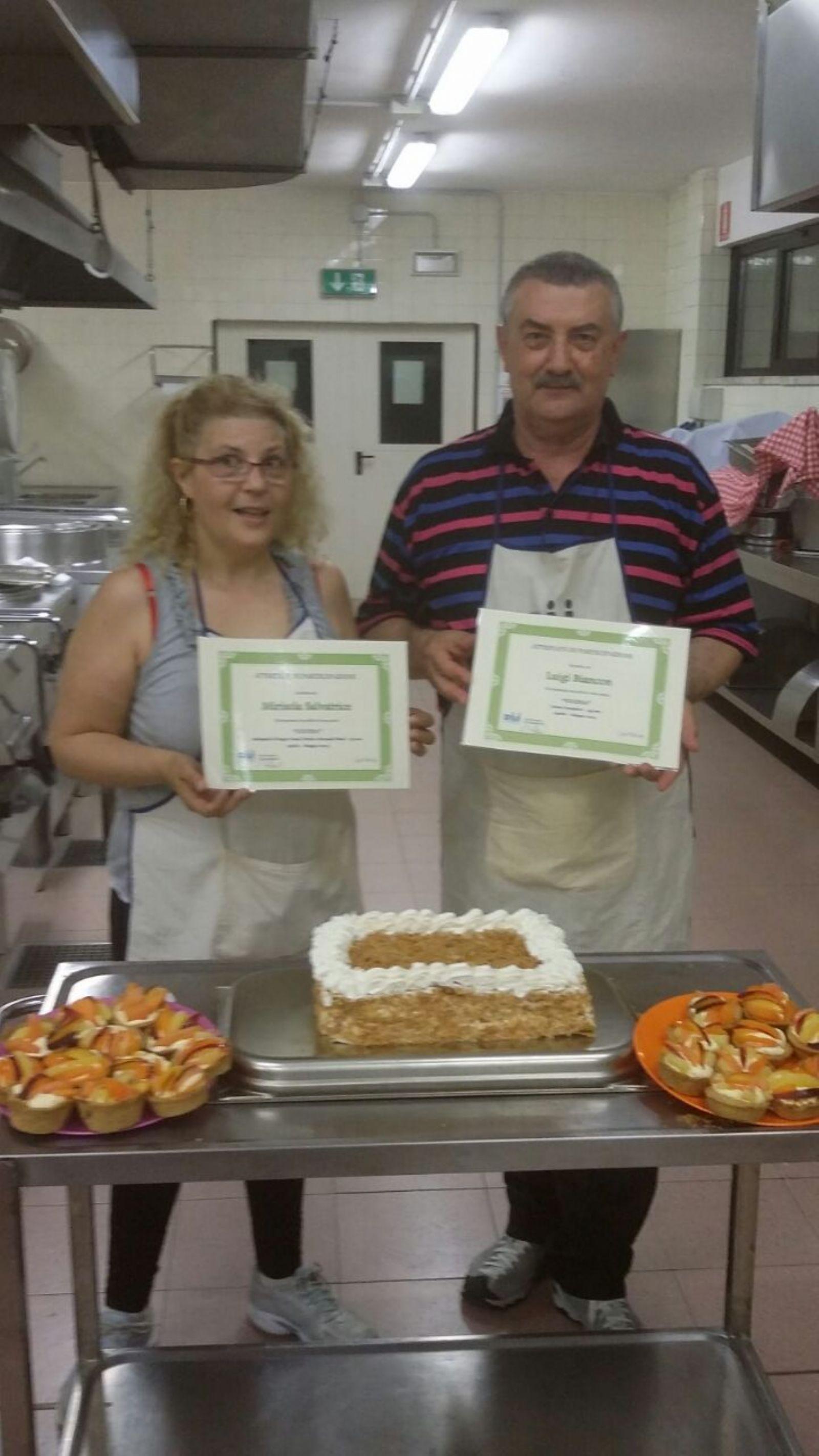 consegna attestati corso cucina a verona