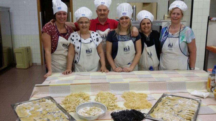 corso di cucina a verona 14052015 preparazione pasta alluovo et voil