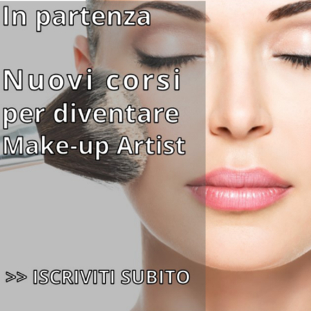 Nuovi corsi per make up artist !