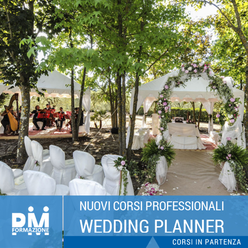 Corsi professionali per Wedding Planner