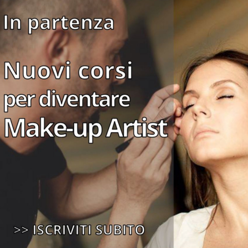 Nuovi corsi per diventare Make-up Artist!